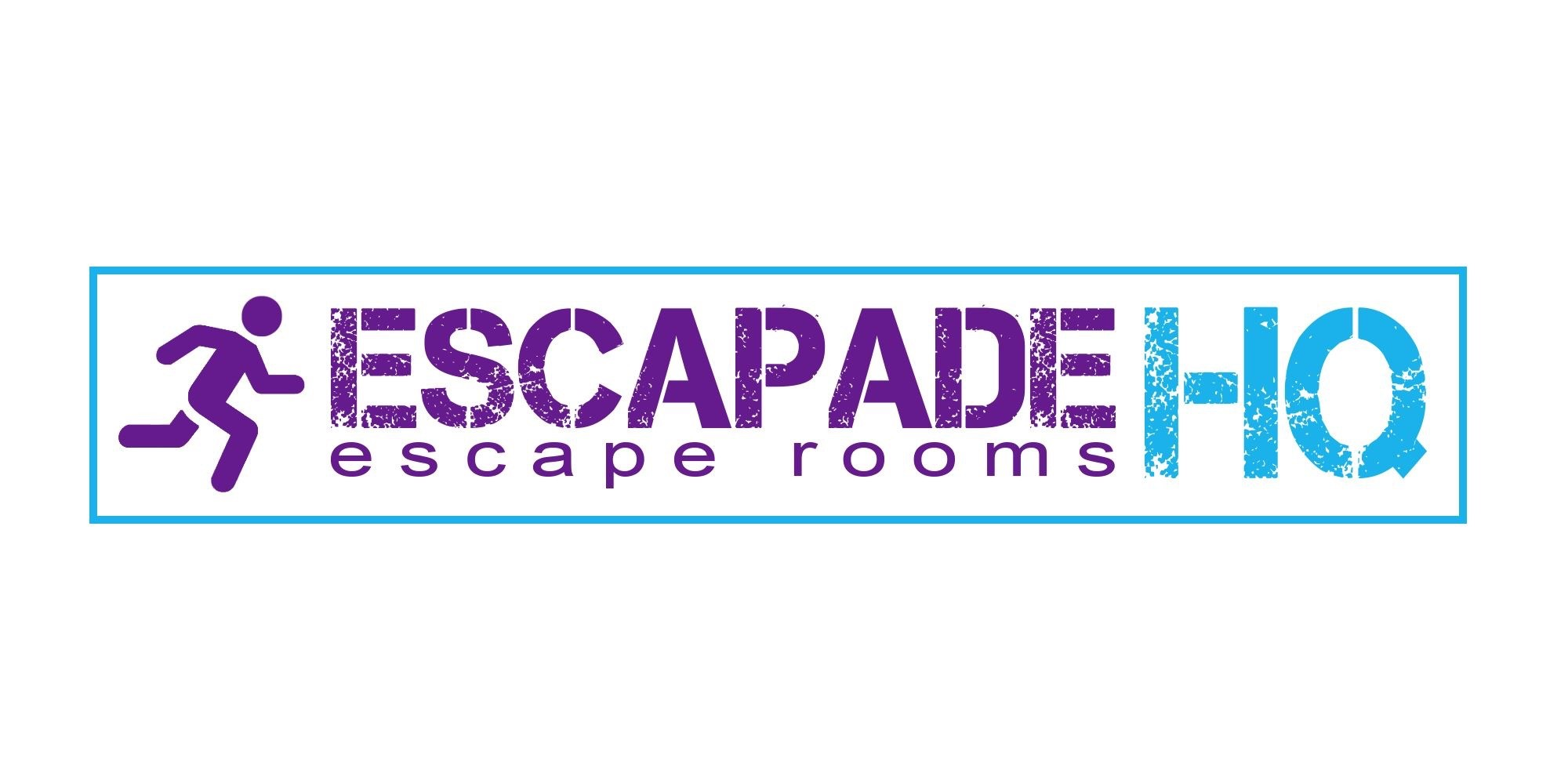 Escapade Logo reading: Escapade escape rooms