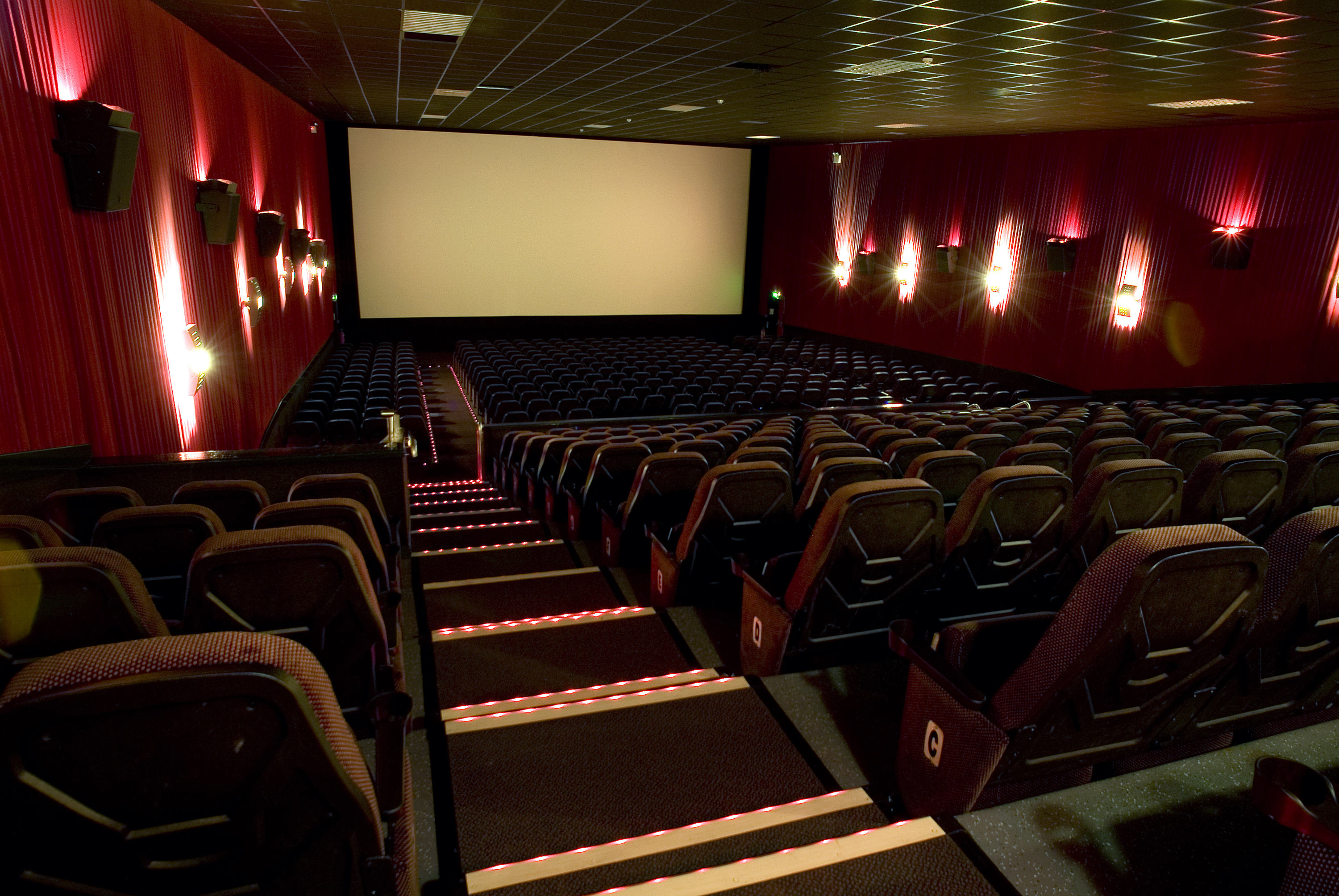 Interior of a cinema theatre